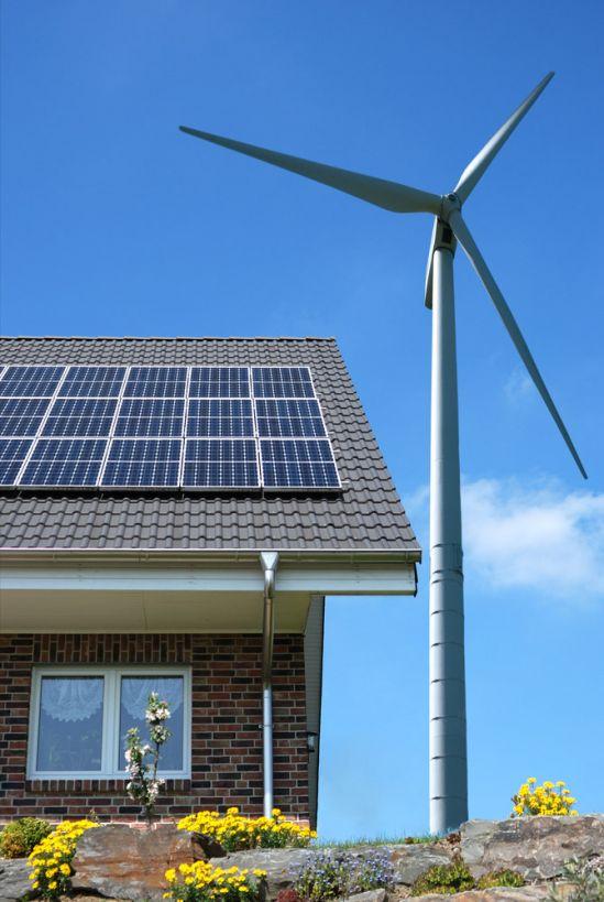 Domácí větrná elektrárna