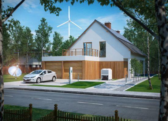 Domácí větrná turbína