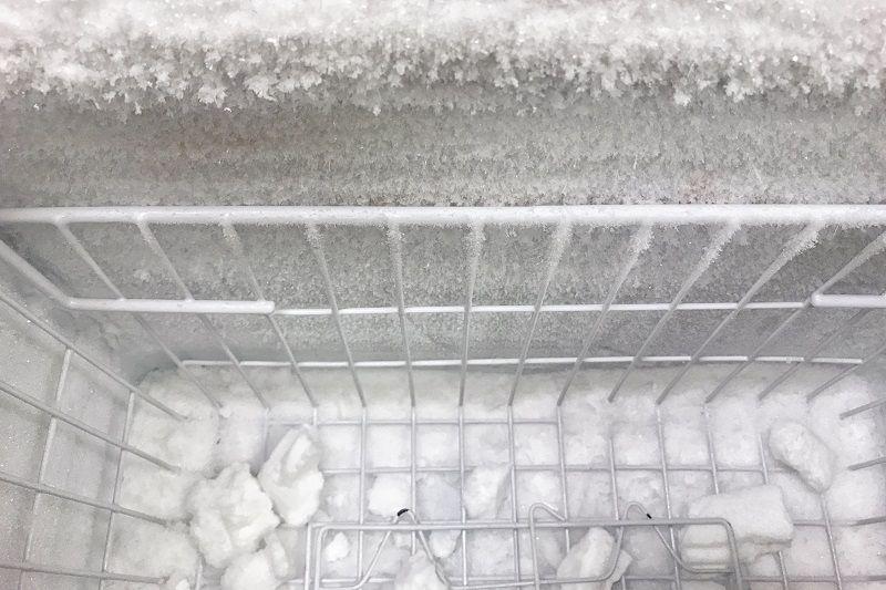 Námraza v lednici