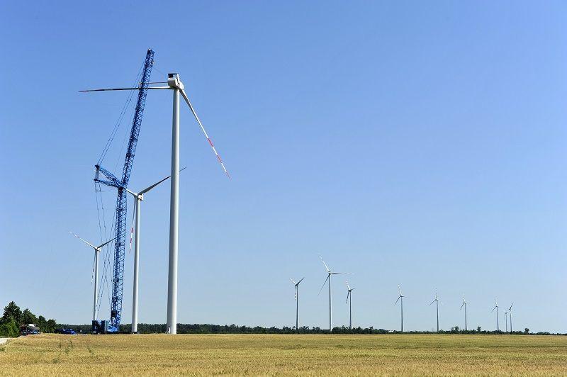 Elektřina z větrné elektrárny