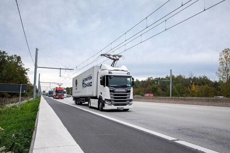 Kamion-trolejbus je budoucnost dopravy