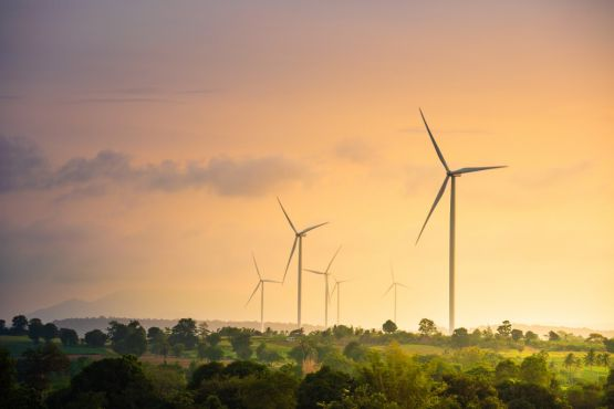 větrná elektřina a elektrárny